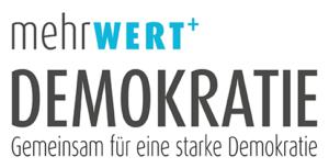 Logo mehrWERT Demokratie